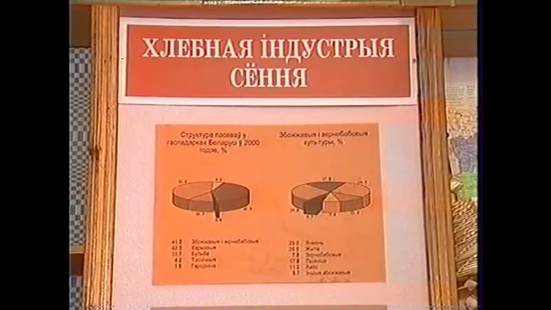 Минск и минчане СТВ декабрь 2004 Музей хлеба в СШ №1 г. Минска