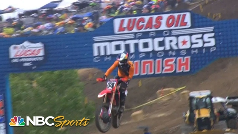 Pro Motocross Round 1 Hangtown Classic | EXTENDED HIGHLIGHTS | 51819 | Motorsports on NBC