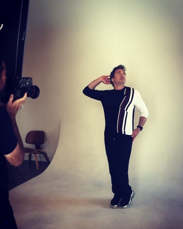 "Robert Downey Jr. on Instagram ""regram flashbackfriday to yesterday w @samjonespictures hair @davynewkirk (🎥 @jimmy_rich ) thankyou @offcame..."