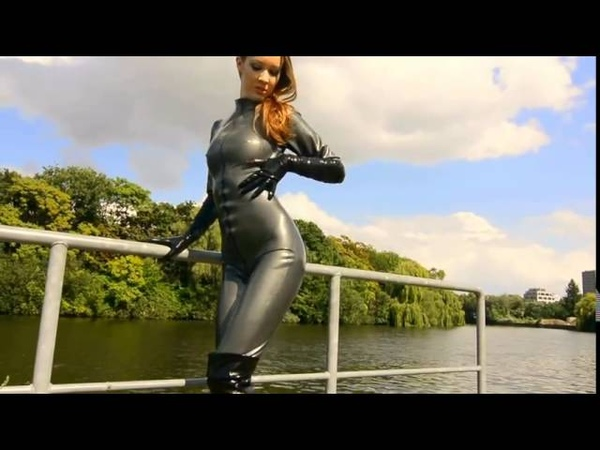 Latex Catsuit Lady