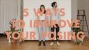 5 WAYS TO IMPROVE YOUR POSING