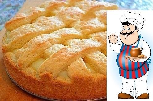 ВКУСНЕЙШИЙ Яблочный пирог с НЕЖНЕЙШИМ заварным кремом