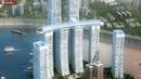 Horizontal skyscraper built in China