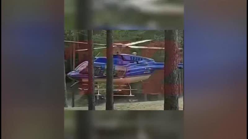 Высший пилотаж над пляжем распугал отдыхающих