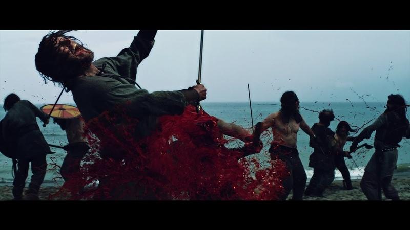 Ритуальная битва.Викинги приносят себе в жертву.Американские боги 1сезон