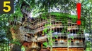 Top 5 BIGGEST Treehouses