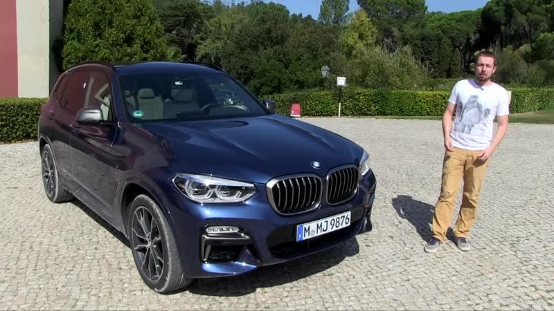 Тест драйв нового BMW X3 много ли в нем от пятерки ؟