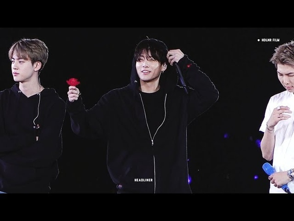 190519 SPEAK YOURSELF NEW JERSY - Rose for ARMY / BTS JUNGKOOK FOCUS FANCAM 방탄소년단 정국 직캠
