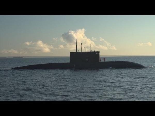 Подлодка Петропавловск Камчатский спущена на воду