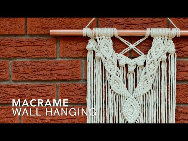 DIY Macrame Wall Hanging - Beginners Advanced Makers!