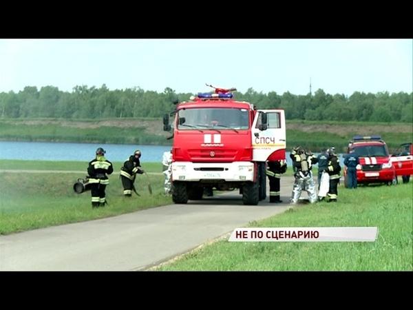 Ярославцы заметили столб черного дыма над НПЗ что там произошло