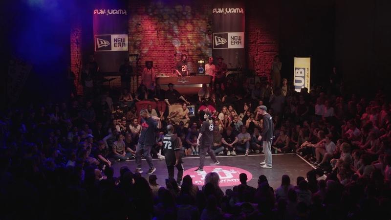 Flavourama 2018 | Top 16 HipHop: P-Soul Slunch (GER) vs. Irina S.N.C.H. Dam'en (RU)