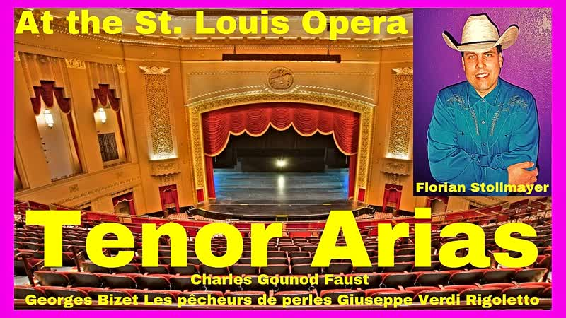 3 Tenor Arias from Faust, Pearlfisher and Rigoletto LIVE 2018 (Florian Stollmayer Tenor) 2