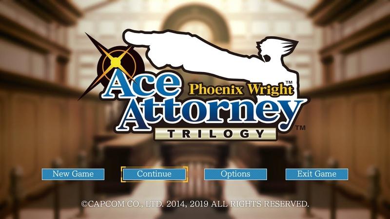 Phoenix Wright - Trilogy -