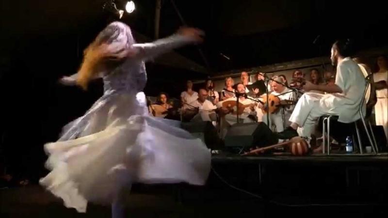 Sansama - Pejman Tadayon Ensamble with Mandira Improta Persepolis Chorus live in Rome , June 2015