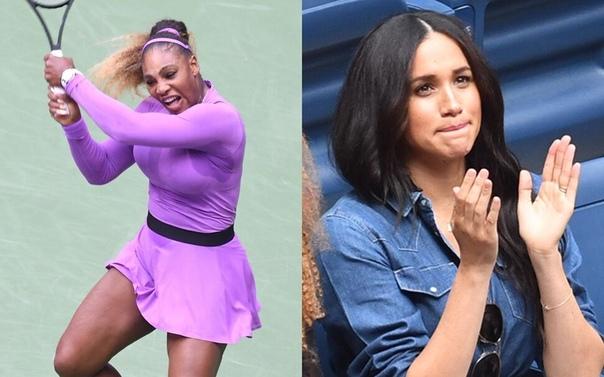 Сглазила: Меган Маркл обвинили в проигрыше Серены Уильямс на US Open