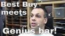 Best Buy Genius Bar tag team defenseless Macbook :'(