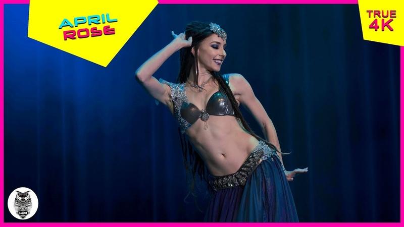 April Rose tribal fusion dancer at The Massive Spectacular True 4K