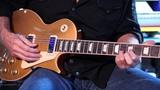 2011 Gibson Les Paul Deluxe Gold top Mini Humbuckers