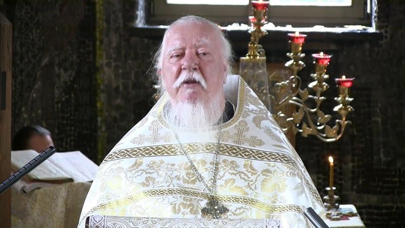 Протоиерей Димитрий Смирнов. Проповедь о поминовении усопших и о молитве за них