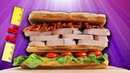 World Record Club Sandwich - Epic Meal Time