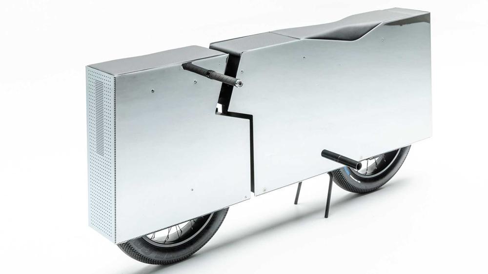 Новая выставка электрических мотоциклов