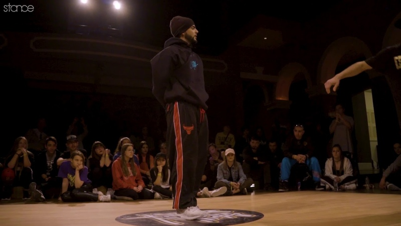 Zoob vs Lucky (footwork final) .stance Stylin The Beat Vol. 4