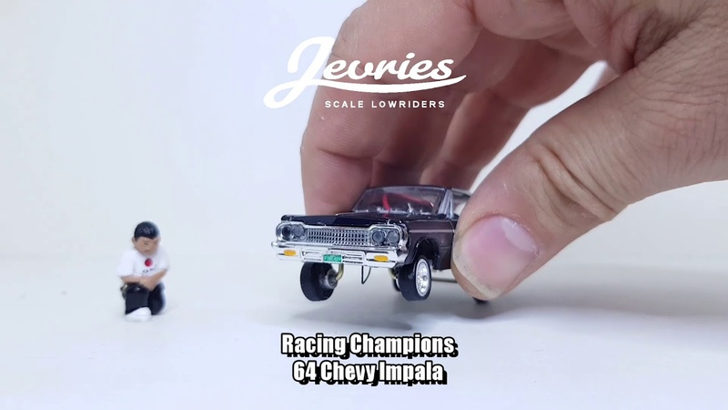 1/64 Scale RC hopping Lowrider Chevy Impala