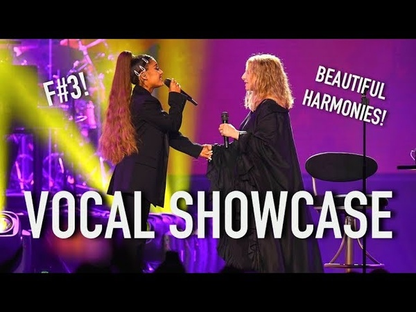 Ariana Grande slays her lower register in duet with Barbra Streisand VOCAL SHOWCASE