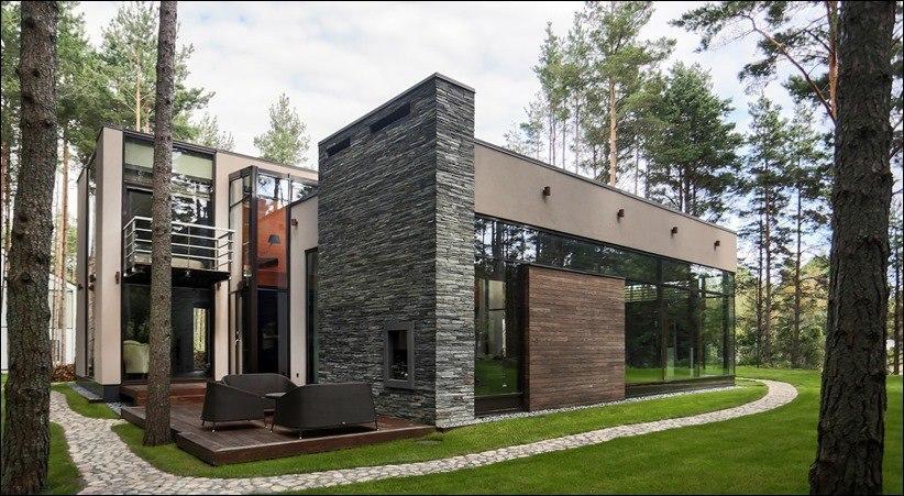 Лесной дом Оникс в Таллине, Эстония