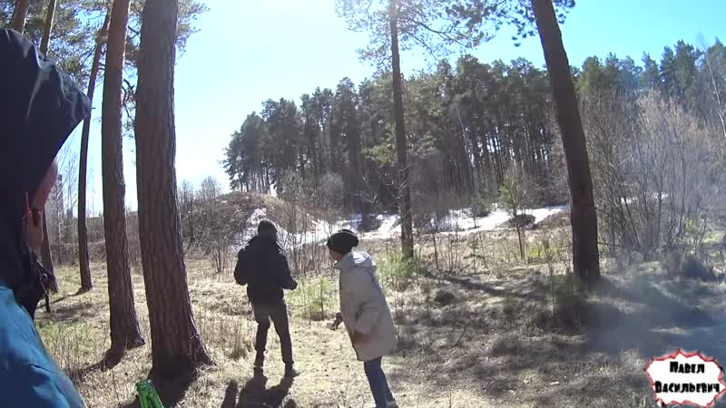 [Павел Васильевич Live] One day among homeless!/ Один день среди бомжей! 249 серия-Тусовка на природе ! (18)!