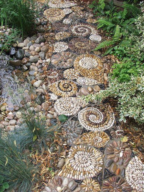 Cоздание кpасивых садовых доpожек