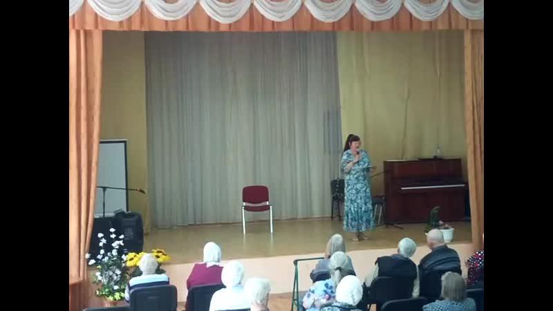 Василиса Выступление в доме престарелых
