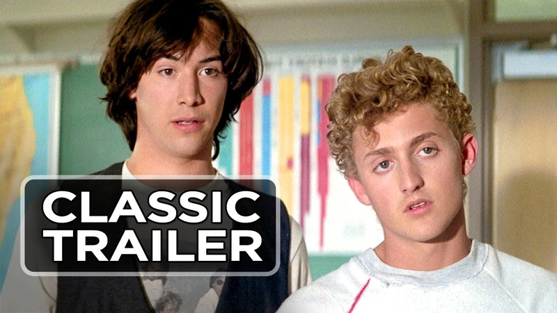 Bill Teds Excellent Adventure Official Trailer 1 - Keanu Reeves Movie (1989) HD