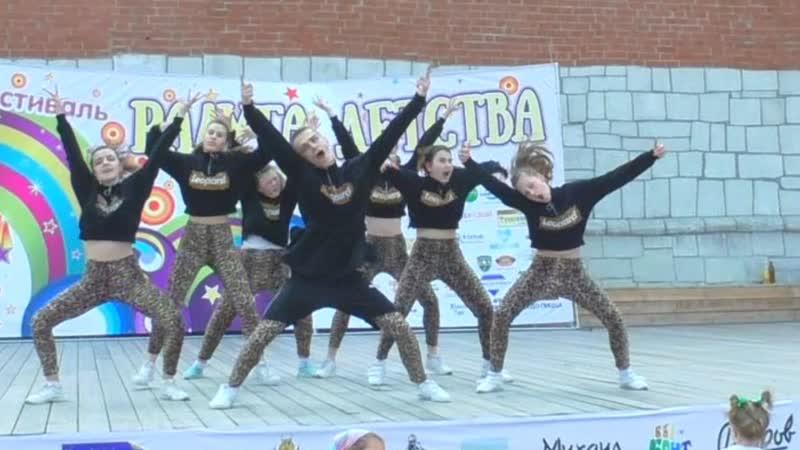 Студия танца IDANCE выступление в Кремле и на Набережной