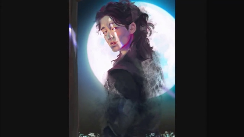 Dokkaebi Kim Shin Gong Yoo speedart tablet huion 191 v1