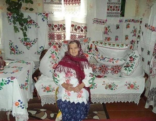 """Снова рубрика """"советские интерьеры""""  Деревенский стиль и уют"""