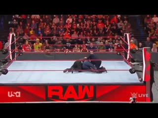 Bobby lashley & lana's reverend attacked by security during wwe raw