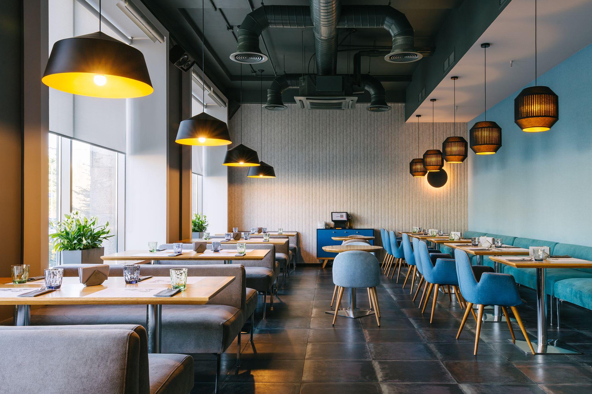 Public cafe - дизайн проект