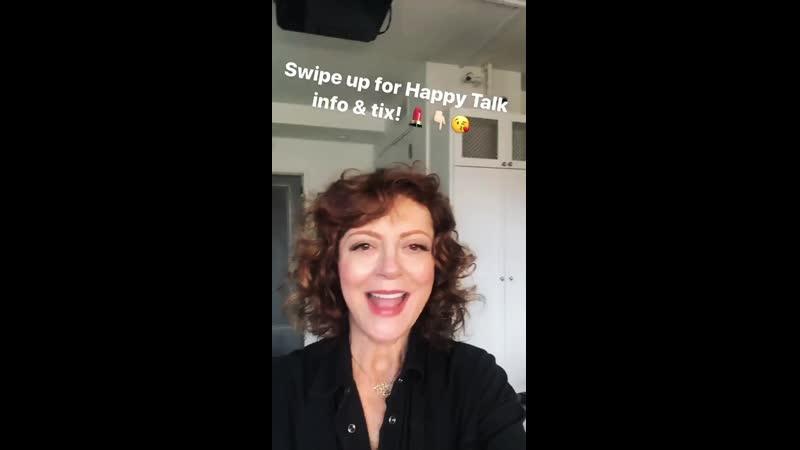 Susan Sarandon Instagram stories