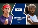 Alexander Zverev vs Dustin Brown Highlights STUTTGART 2019