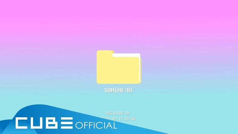 [15.07.2019] PENTAGON 9th Mini Album [SUM(ME:R)] Audio Snippet