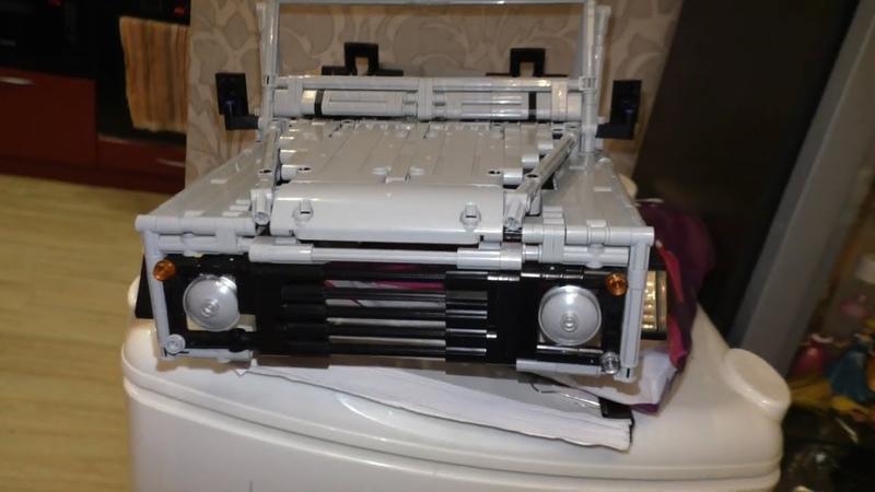 Lepin Technic 23003 Сборка аналога LEGO Land Rover Defender 110 by Sheepo 3