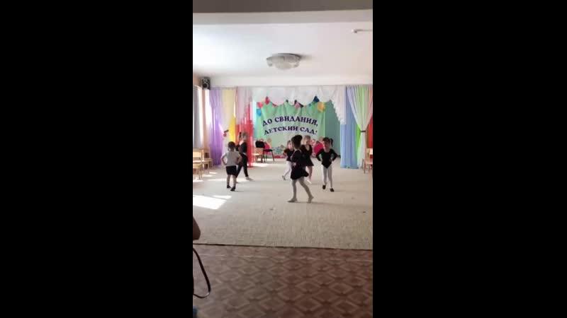 Открытое занятие по хореографии в 7 дс! Хореограф Чернобривец Анна Сергеевна!
