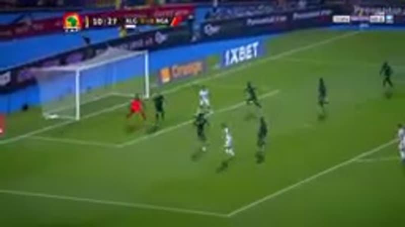 ملخص مباراة الجزائر ونيجيريا 2 1 هدف بنيران صديقة جنون دراجى 144p mp4