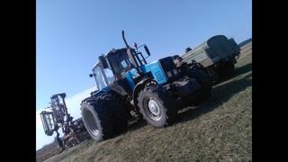МТЗ 1221 работает в поле с АКШ-6.0