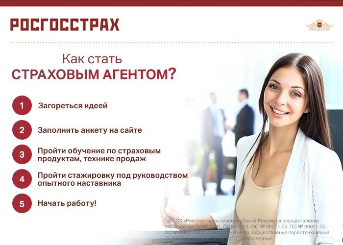 Страховой агент/Менеджер по страхованию/Специалист по продаже страховых продуктов.