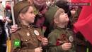 Régiment immortel à travers le monde des milliers de personnes rejoignent les défilés