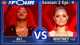 Whitney Reign vs Ali Caldwell If You Don't Know Me By Now The Four Season 2 Ep. 4 S2E4