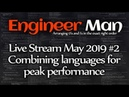 Combining languages for peak performance Engineer Man Live